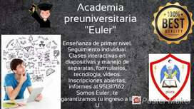 Clases virtuales Grupo de Estudios Euler