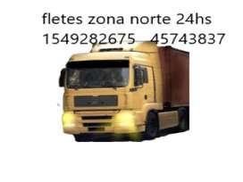 Fletes zona norte 24hs