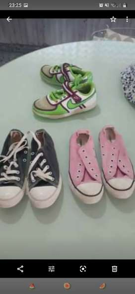 Calzado de niña y ropa