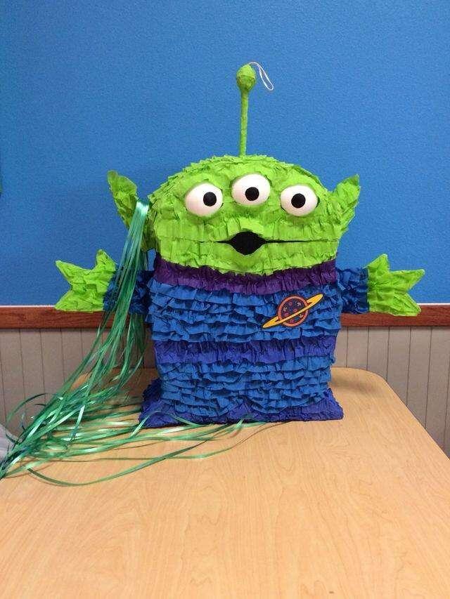Piñata Marciano Verde Toy Story Desde 0