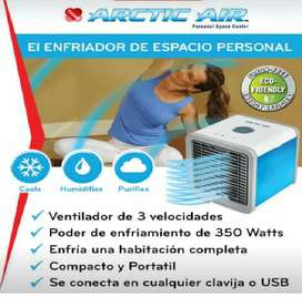 AIRE ACONDICIONADO PORTÁTIL ARTIC AIR CARRO, CASA, PC