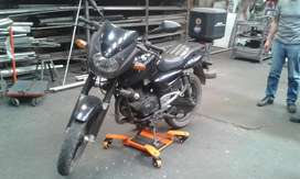Plataforma sencilla para mover Motocicletas