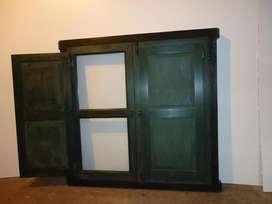 Vendo ventana nueva de madera de 1,10 m