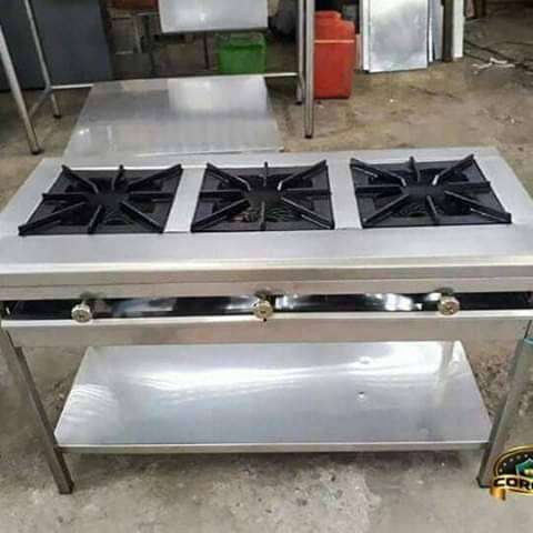 Cocina de tres quemadores 0