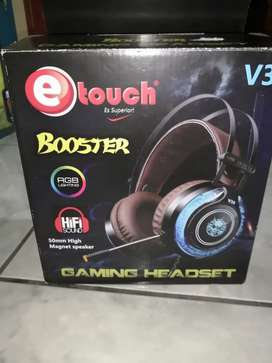 Gaming Headset booster - Etouch