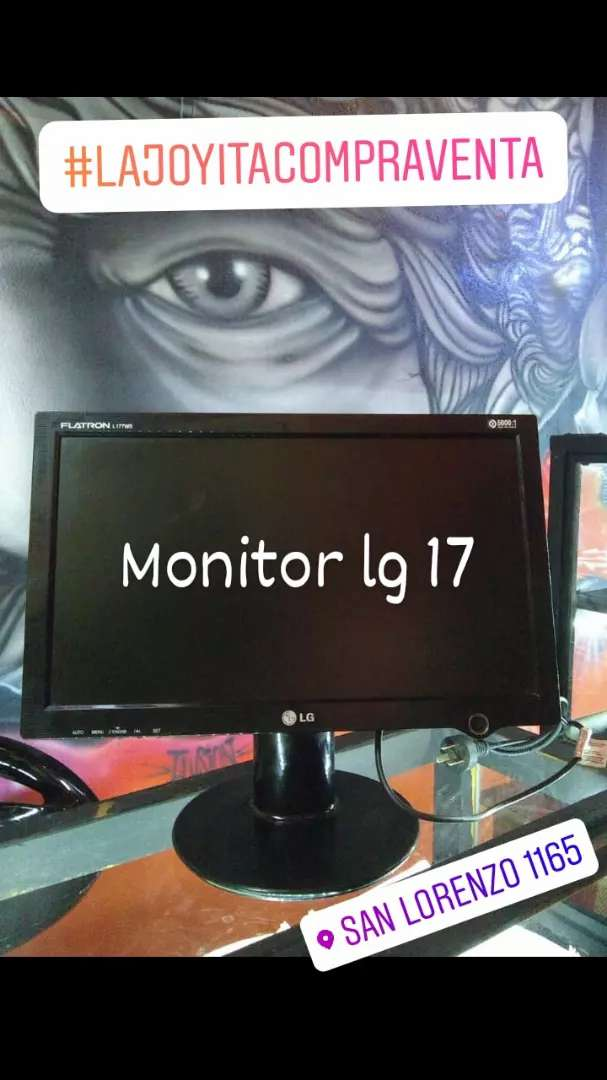 Monitor lg 17 pulgadas 0