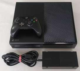 Xbox One 500gb + Control + Cargador