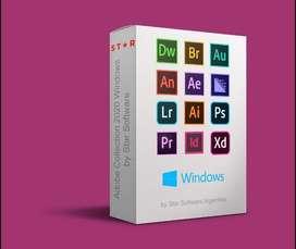 Todos los programas de Adobe 2020 para Windows 10 + guia de instalacion + garantia