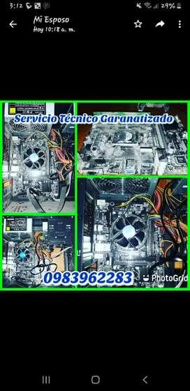 Servicio Técnico Especializados de PC, Laptop (Reparaciones, actualizaciones)