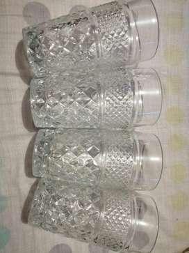 Vasos en Cristal de Murano
