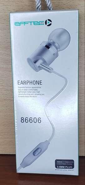 Auriculares C Microfono Effecplay Inear