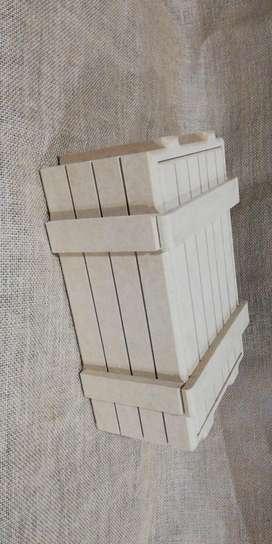 Caja tipo embalaje anchetas regalos madera mdf empaques