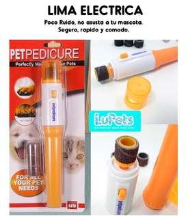 PETPEDICURE lima eléctrica mascotas perro gato