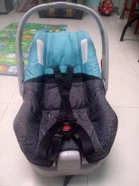 Canasta carro bebe