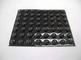 Bumpon Sj 5003 Hemisferico Negro Caja X 3000 MARCA 3M