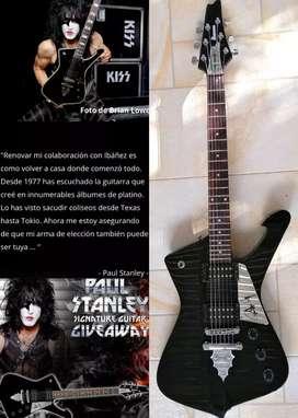 Guitarra eléctrica Ibañez ICEMAN paul stanley ps40 signature ibanez como nueva ltd schecter jackson gibson warlock esp