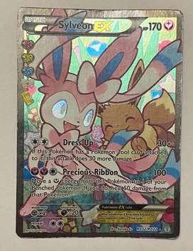 Sylveon Ex Fullart Pokemon Card