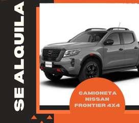 ALQUILER DE CAMIONETA 4X4 FRONTIER