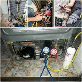 PROFECIONALISMO más de 20 años de experiencia Aire acondicionado nevera lavadora estufa