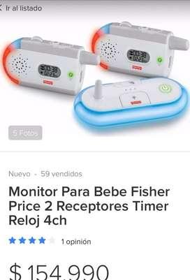Monitor bebe fisher price