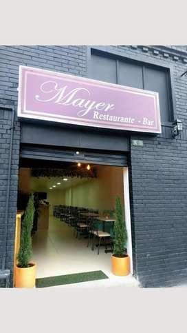 Se vende restaurante bar