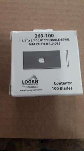 Vendo Caja de Cuchillas Marca Logan. Made in USA.