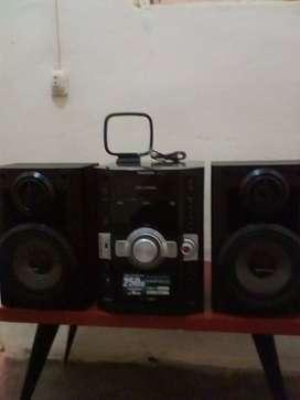 Un Equipo de Sonido Panasonic