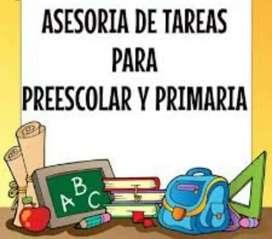 Asesoría de Tareas Preescolar Y Primaria