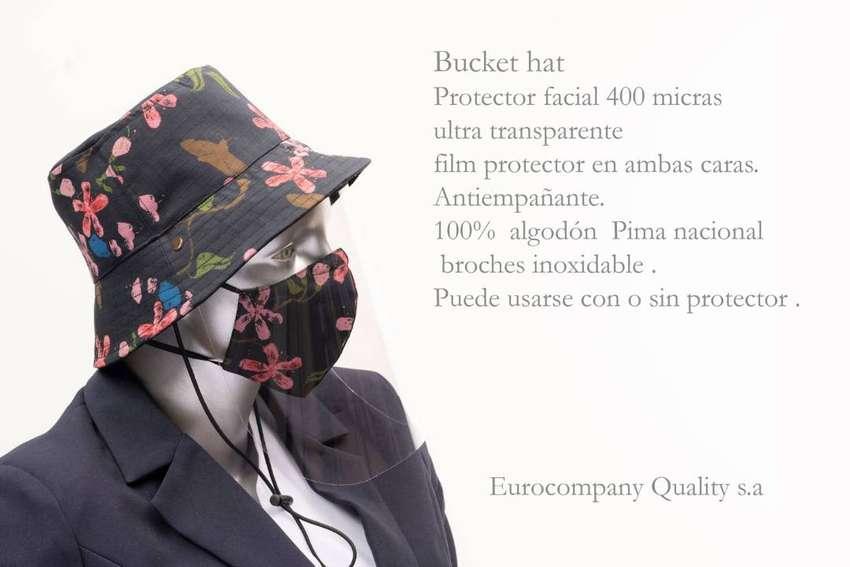 bucket hat sombrero protector 100% algodón pima damas, hombres y niños 0