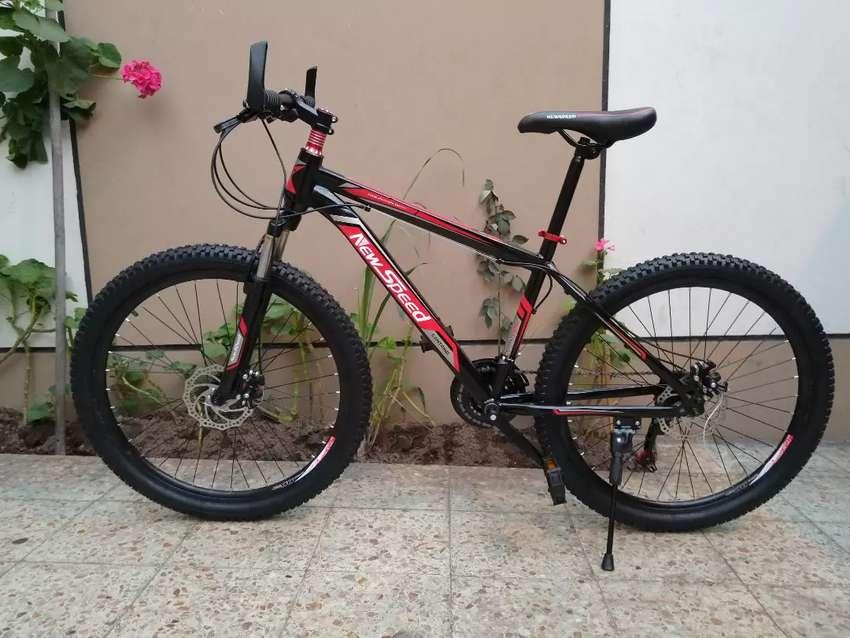 Bicicleta Montañera Aro 26, Freno de disco, 21 cambios 0