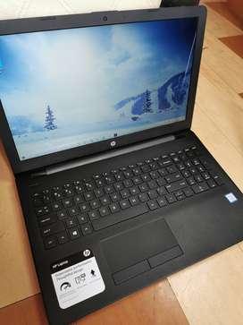 Portatil HP Notebook 15 core I3 8130U, 8GB ram DDR4, 1TB HDD, Pantalla 15 HD Touch