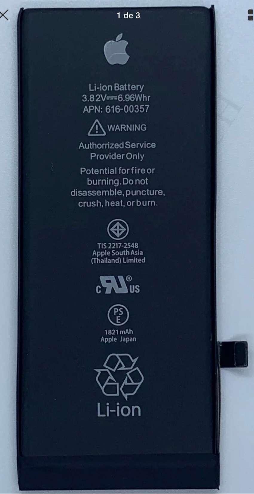 baterías para iphone samsung LG sony xiaommi e instalaciones