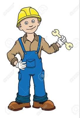 auxiliar de mantenimiento y reparaciones - ayudante de obra