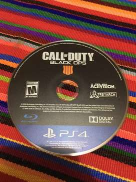Vendo Call of Duty Black Ops 4 para PS4