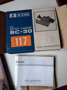 Cargador Baterias Icom Bc-30/35 Radios Yaesu Kenwood