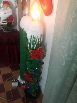 Vendo velas navideñas