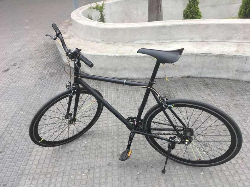 Bicicleta Fixie De Carrera, Rápida. Ligera Y Resistente 0