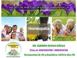 Médico de Homeopatía Quito