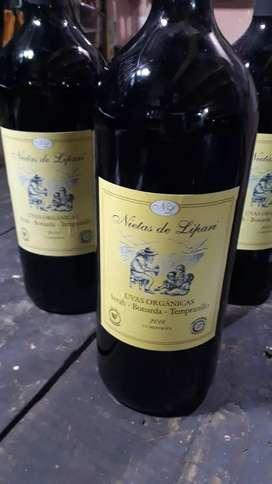 Vino orgánico 1250ml (SIX PACK)