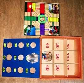 Parques + Rana 2 juegos en 1 Juego De Mesa portátil portable.