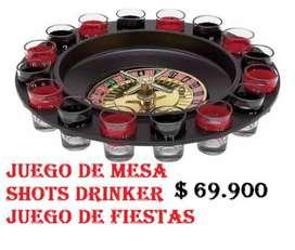 Juego De Mesa Shots Drinker Juego De Fiestas