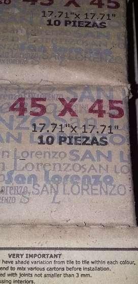 Cerámicos 45x45