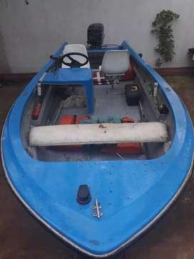 LANCHA C/ MOTOR MERCURY 40 HP