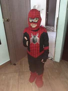 Disfraz de el hombre araña