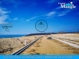 TERRENO EN VENTA CON FINANCIAMIENTO DIRECTO A 60 MESES FRENTE AL MAR AL SUR DE MANABI SD2