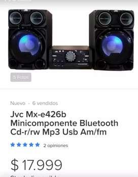 JVC amplificador