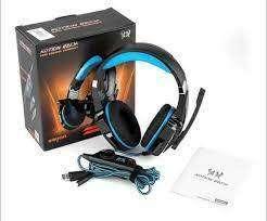 Audifono Diadema Gamer Luz G9000 Para Ps4 Xbox One Y Pc