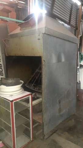 Se vende asador de carne completo