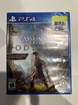 Assassins Creed Odyssey nuevo sellado