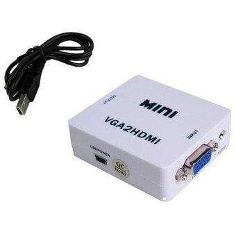 Convertidor / adaptador VGA a HDMI 1080p